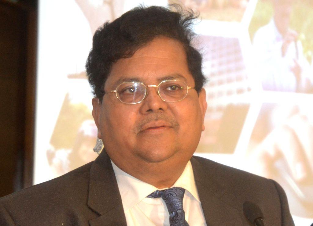 Vijaya Bank MD and CEO RA Sankara Narayanan addresses a press conference in Bengaluru on July 23, 2018.