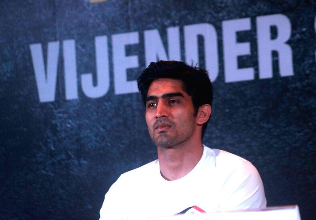 Vijender Singh. (Photo: IANS) - Vijender Singh