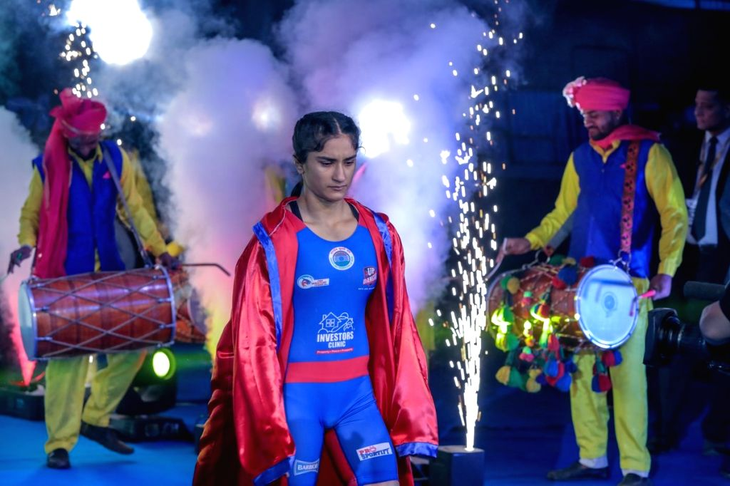 Vinesh of UP Dangal who is set to clash with Sun Yanan of Haryana Hammers on 23rd Jan, in New Delhi.