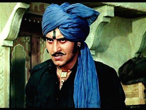 "Vinod Khanna as a dacoit chief in \""Mera Gaon, Mera Desh\"" - Vinod Khanna"