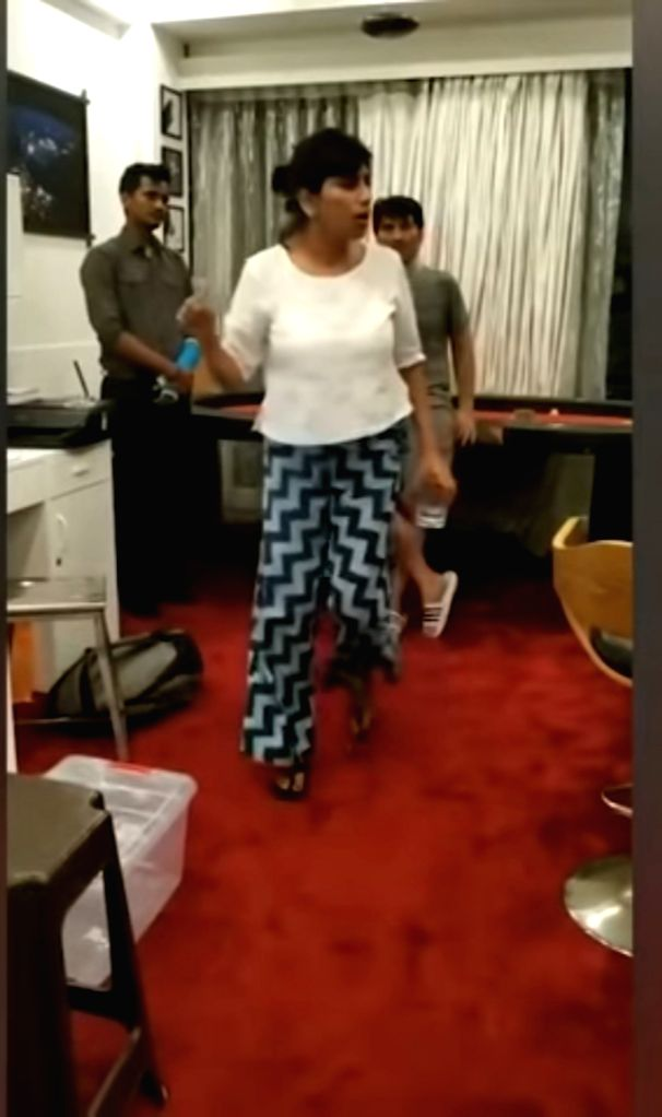 Viral video shows Sushant's sister Priyanka scolding staff over money transfer.