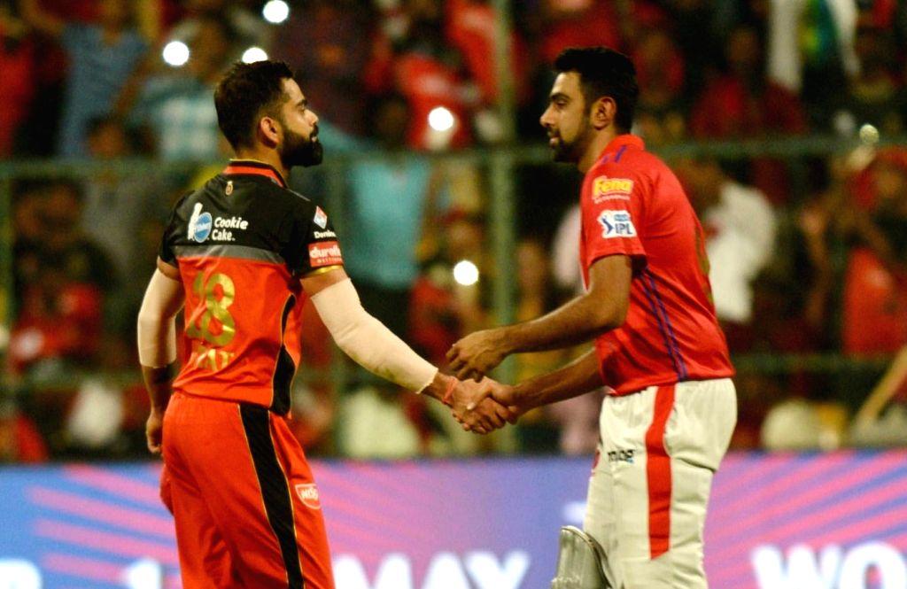 Virat Kohli and R Ashwin. - Virat Kohli