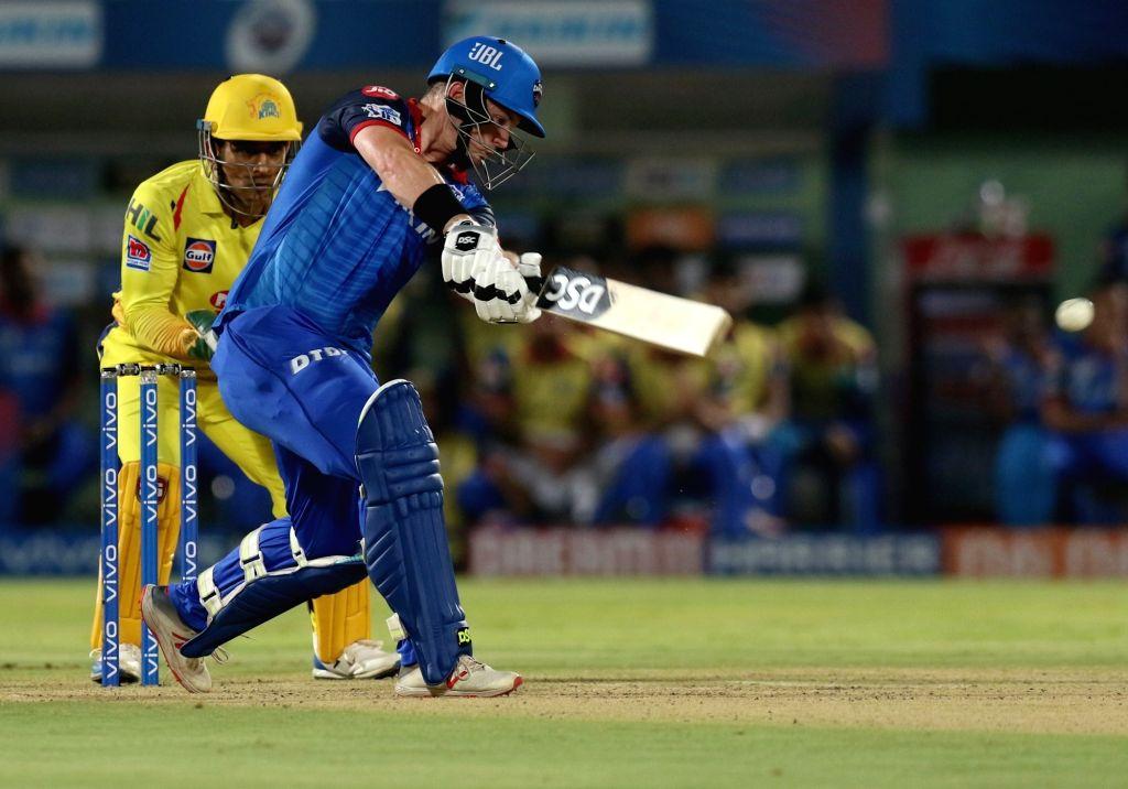 Visakhapatnam: Delhi Capitals' Colin Munro in action during the 2nd Qualifier match of IPL 2019 between Chennai Super Kings and Delhi Capitals at Dr. Y.S. Rajasekhara Reddy Cricket Stadium in Visakhapatnam, on May 10, 2019. (Photo: Surjeet Yadav/IANS - Surjeet Yadav
