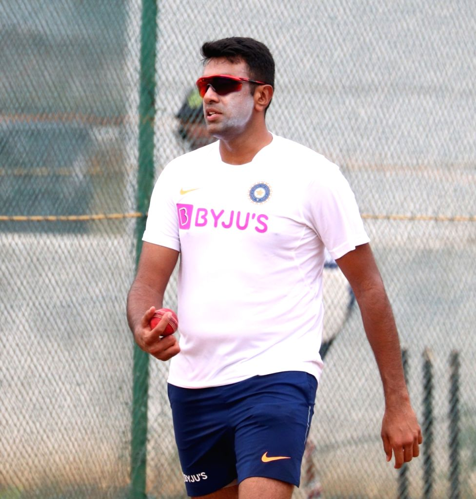 Visakhapatnam: India's Ravichandran Ashwin during a practice session at the ACA-VDCA Stadium in Visakhapatnam on Oct 1, 2019. (Photo: Surjeet Yadav/IANS) - Surjeet Yadav