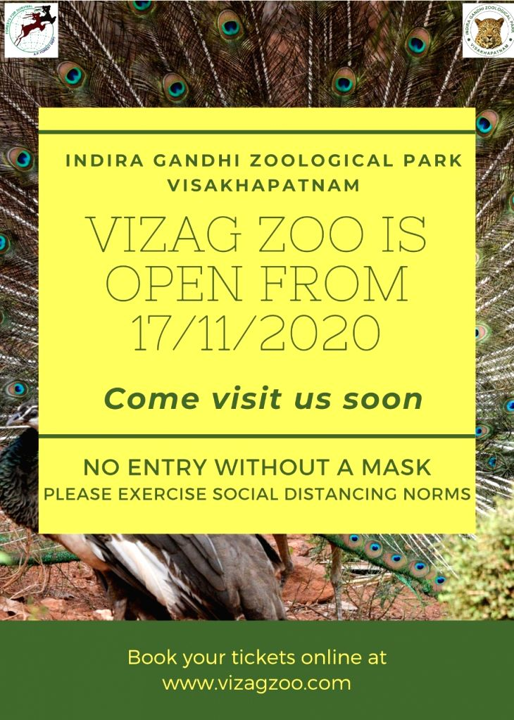 Visakhapatnam Zoo to reopen from Tuesday amid Covid.