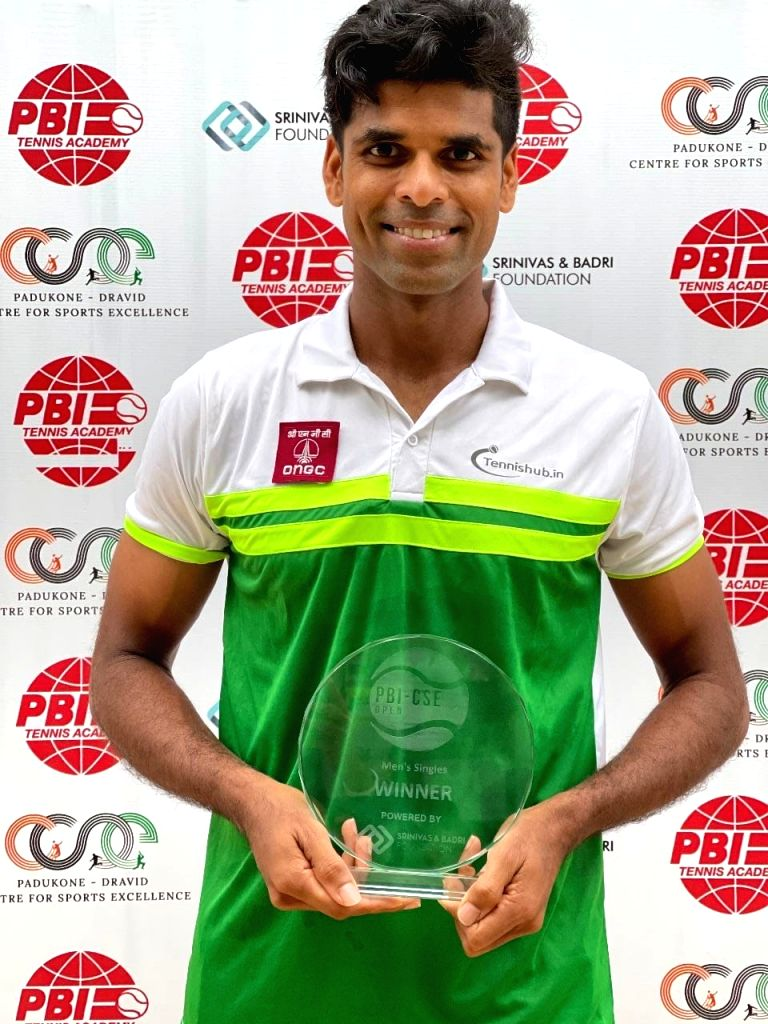 Vishnu back to winnings ways with AITA Men's event title