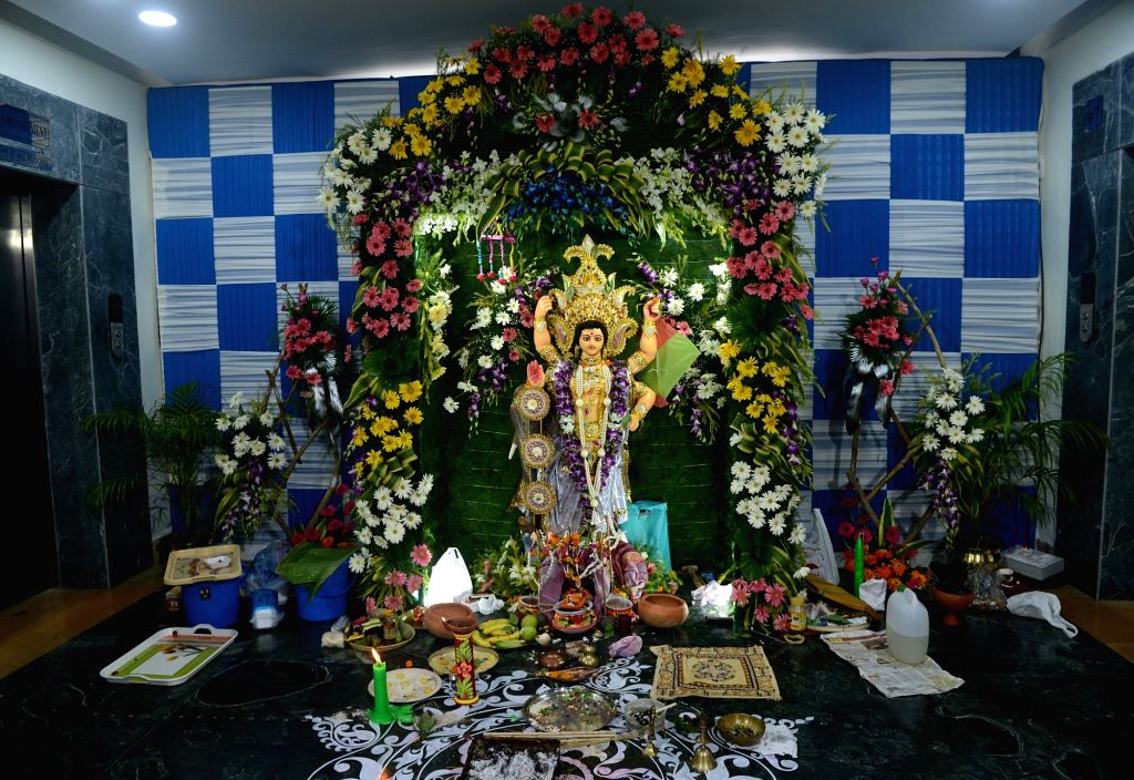 Vishwakarma Puja at Nabanna in Howrah on Sept 17, 2018.