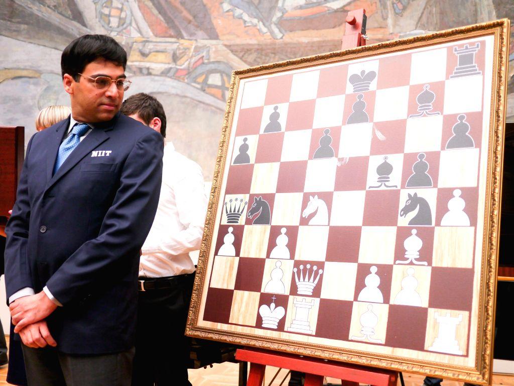 Viswanathan  Anand,   the Indian Chess Grandmaster