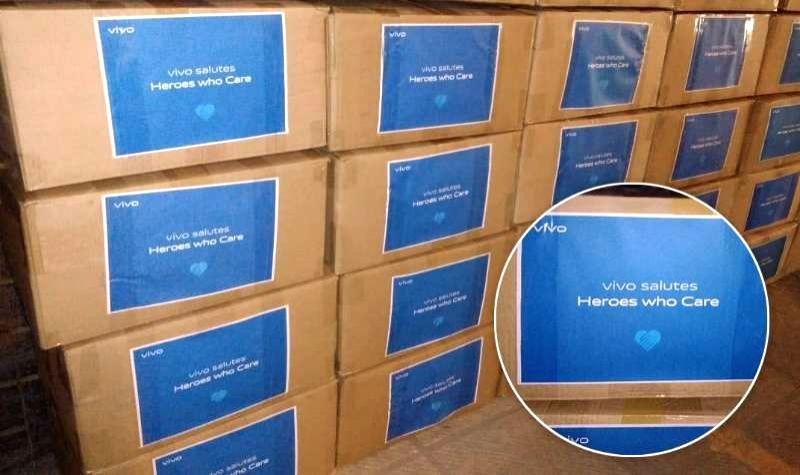 Vivo donates 1 lakh medical masks to Maharashtra government.