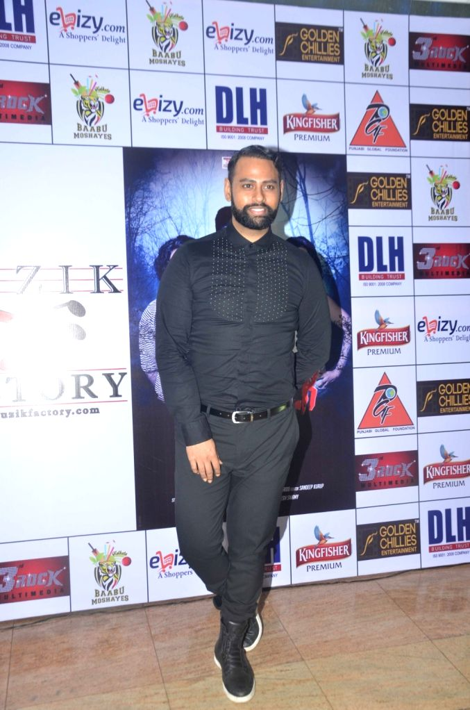 VJ Andy during the launch of Kashmira Shah`s short film ``Come Back to Me`` on 05 Oct 2016. - Kashmira Shah