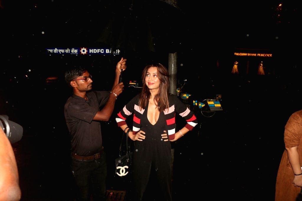 VJ Anusha Dandekar at the launch of Bumble's #FindThemOnBumble campaign in Mumbai, on June 13, 2019.