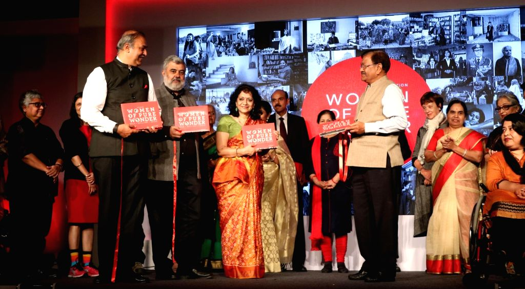 """Vodafone India MD and CEO Sunil Sood during the launch of the fourth edition of """"Women of Pure Wonder"""" series in New Delhi on March 10, 2017."""