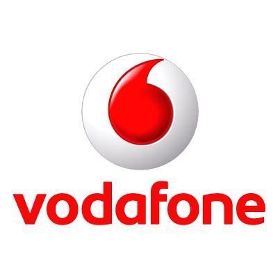 Vodafone logo. (File Photo: IANS)