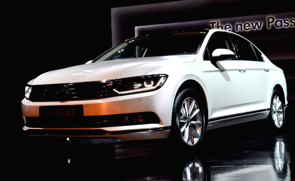Volkswagen launches 'Passat' in New Delhi on Oct 10, 2017.
