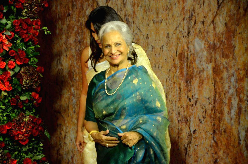 Waheeda Rehman. (Photo: IANS) - Waheeda Rehman