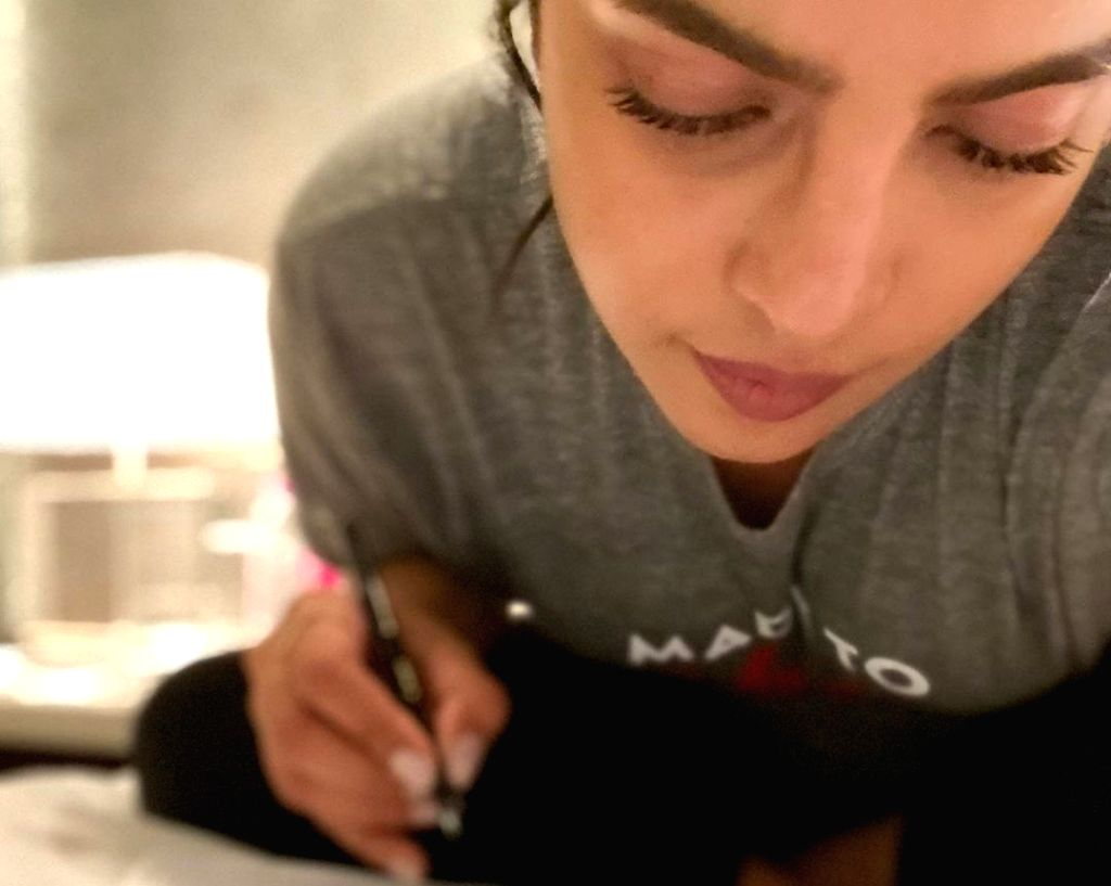 "Walking down the memory lane, Indian actress Priyanka Chopra has drawn a comparison of her shooting preparations between the American show ""Quantico"" and the upcoming adaptation of ... - Priyanka Chopra"