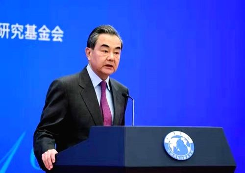 Wang Yi attended the 2019 International Situation and Chinese Diplomacy Symposium.