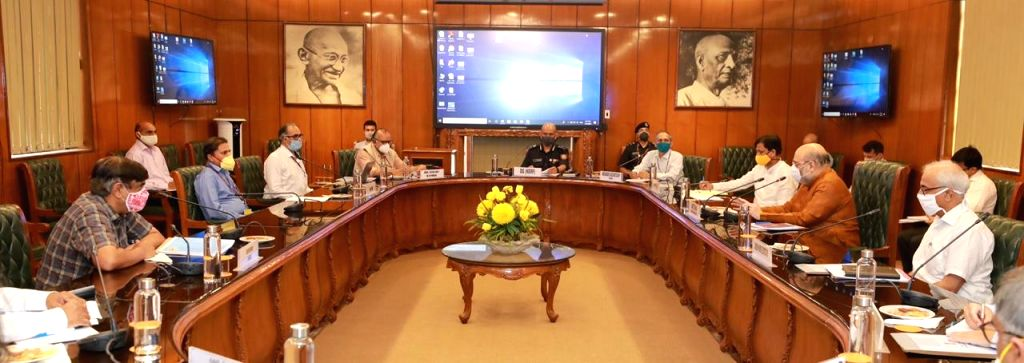 Want permanent flood solution in Bihar, UP & NE: Shah to officials.