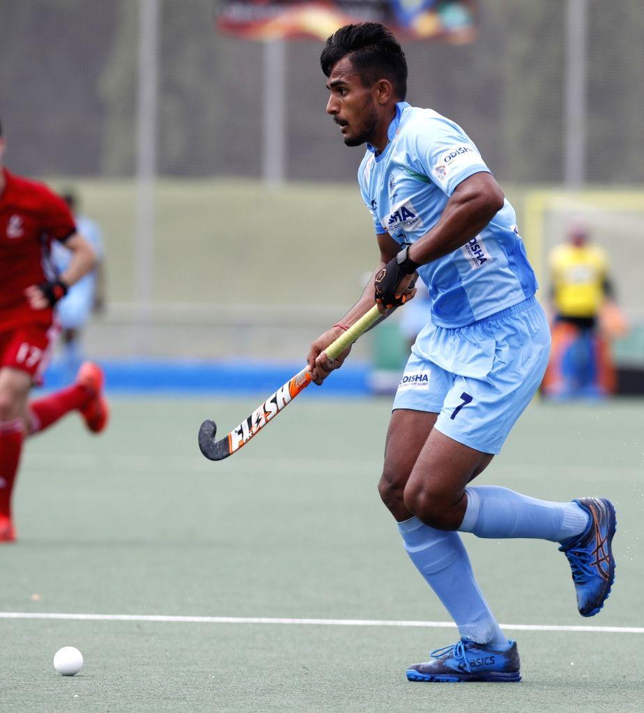 Want to emulate the way Harmanpreet Singh plays, says Sanjay. - Harmanpreet Singh
