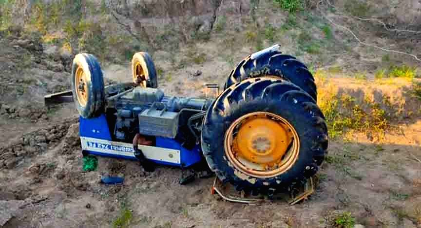 Warangal Rural: A farmer died when his tractor fell into an open well at Nallabelli village of Wardhannapet mandal in the Warangal Rural district on Nov 16, 2020. The deceased was identified as ...