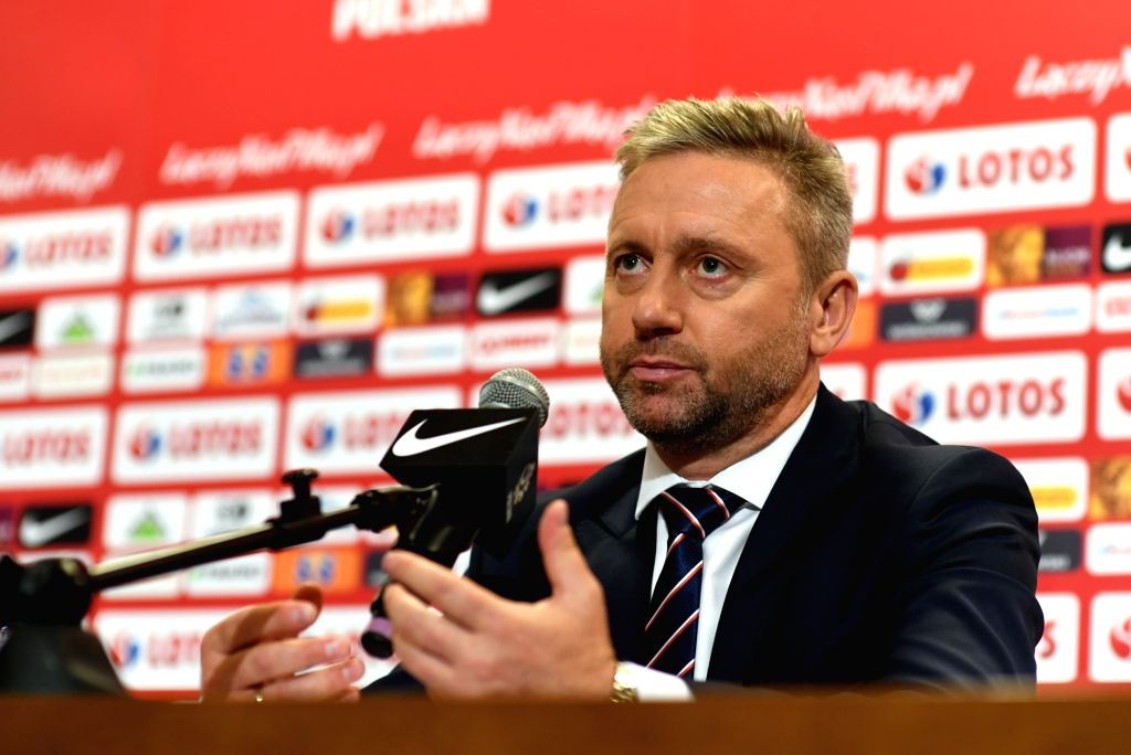 WARSAW, July 24, 2018 - Newly appointed head coach of the Polish national football team Jerzy Brzeczek attends a press conference in Warsaw, Poland, July 23, 2018.