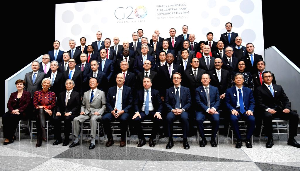 G20 Nations' Finance Ministers Met Today in Washington