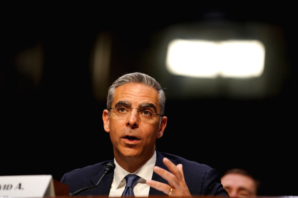 "WASHINGTON D. C., July 17, 2019 David Marcus, head of Facebook's blockchain subsidiary Calibra, testifies before the Senate Banking, Housing and Urban Affairs Committee on ""Examining ..."