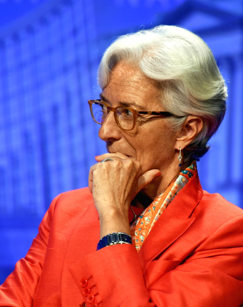 WASHINGTON D.C., June 24, 2016 - The International Monetary Fund(IMF) Managing Director Christine Lagarde is seen at the IMF headquarters in Washington D.C., the United States, on June 24, 2016. The ...