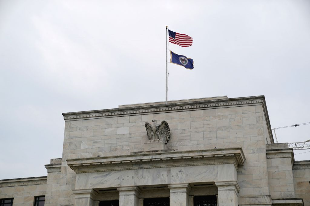 WASHINGTON D.C., June 6, 2019 - Photo taken on June 5, 2019 shows the U.S. Federal Reserve building in Washington D.C., the United States. The U.S. central bank released its latest beige book on ...