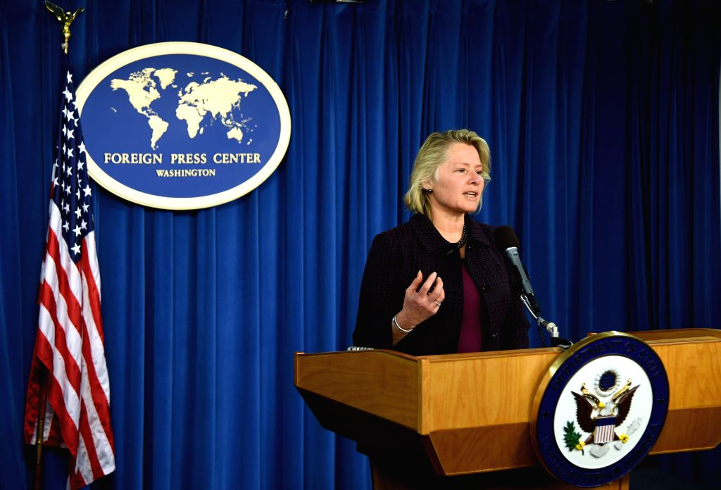 WASHINGTON D.C., March 14, 2017 - United States Acting Assistant Secretary of State Susan Thornton speaks at a briefing in Washington D.C. March 13, 2017. The U.S. is pursuing a constructive and ...