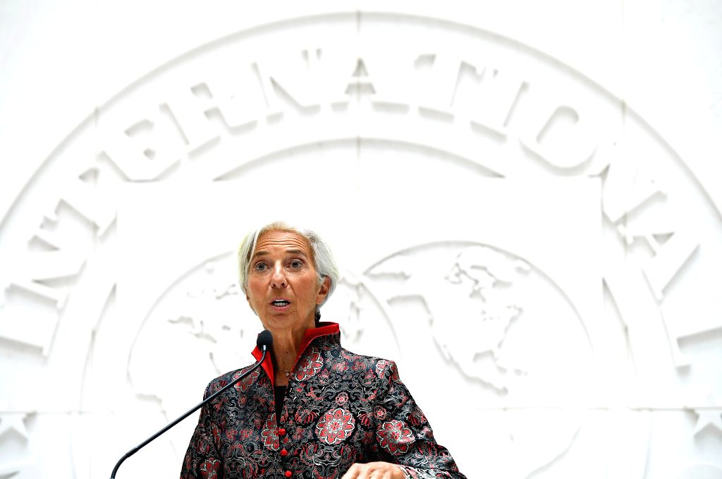 WASHINGTON D.C., Sept. 30, 2016 - International Monetary Fund (IMF) Managing Director Christine Lagarde speaks on launch of the new Special Drawing Right (SDR) basket including the Chinese currency, ...