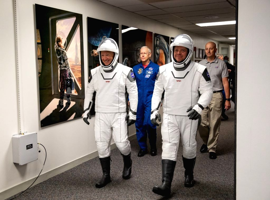 Washington, May 27 (IANS) Ahead of their historic launch to the International Space Station (ISS) aboard a SpaceX Crew Dragon spacecraft on Wednesday, NASA astronauts Douglas Hurley and Robert Behnken said that they were ready for the upcoming journe