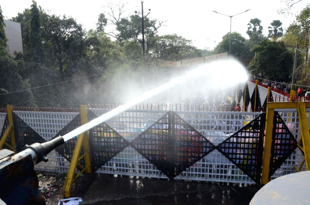 Water cannon. (File Photo: IANS)