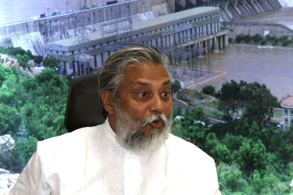 Water conservationist Rajendra Singh during a press conference in Bengaluru on Aug 9, 2017. - Rajendra Singh