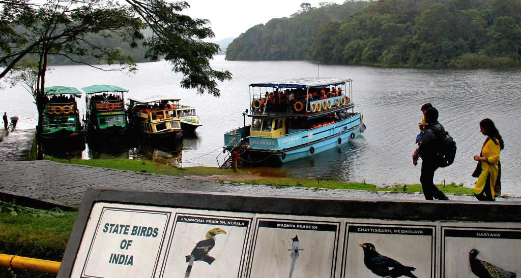 Water level rises in the Mullaperiyar dam to 135 feet after heavy rains on Nov 22, 2015.