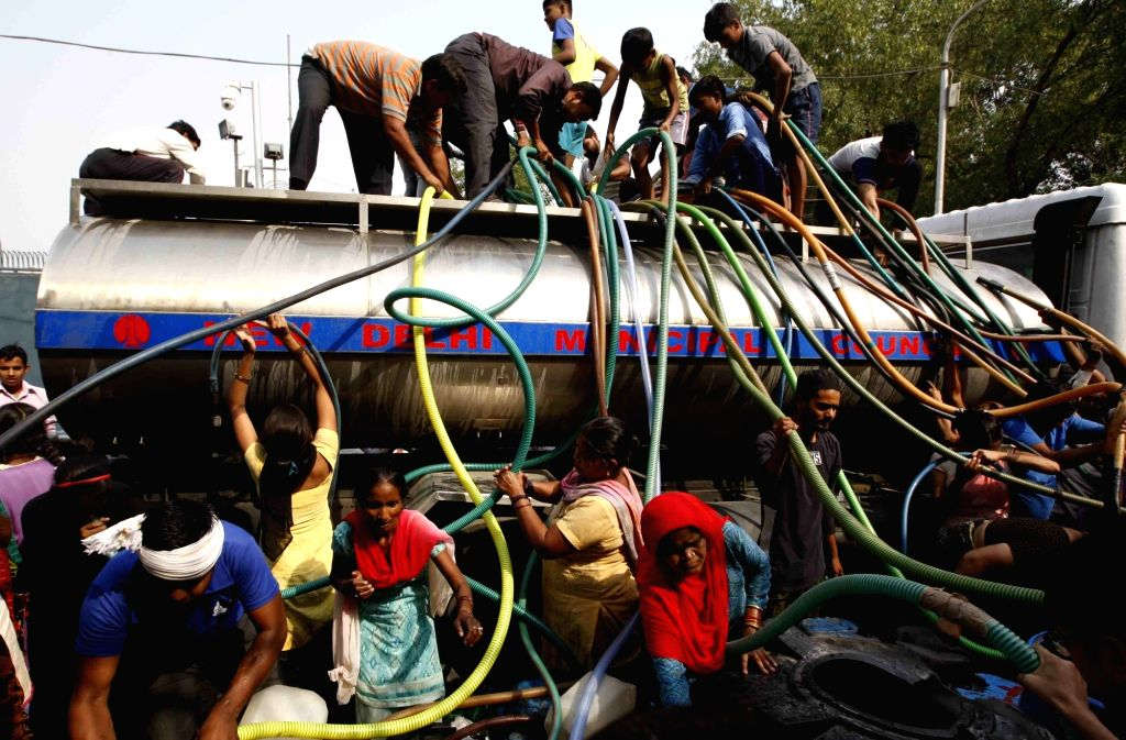 Water tanker. (File Photo: IANS)