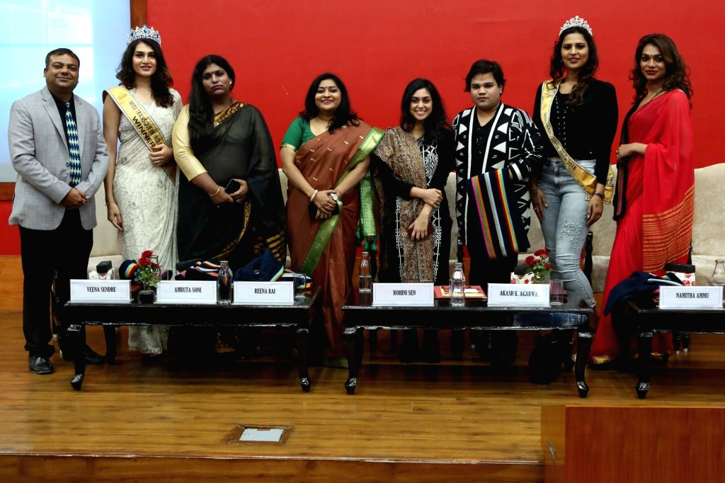 """""""We Are Your Strength""""- a programme organised by Jindal School of Government and Public Policy (JSGP) where transgenders took the centre stage and shared stories of their struggle and overcoming the difficulties."""