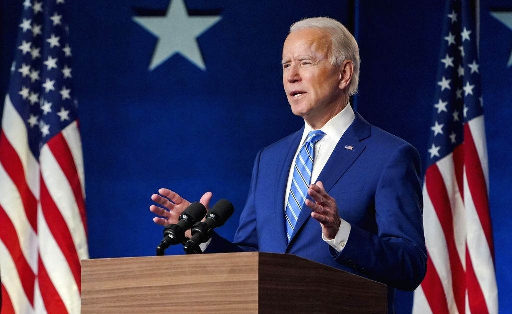 We're going to win this race with clear majority: Biden