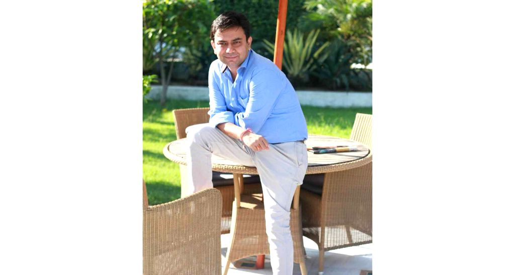 Well-known television personality Saurabh Tewari.