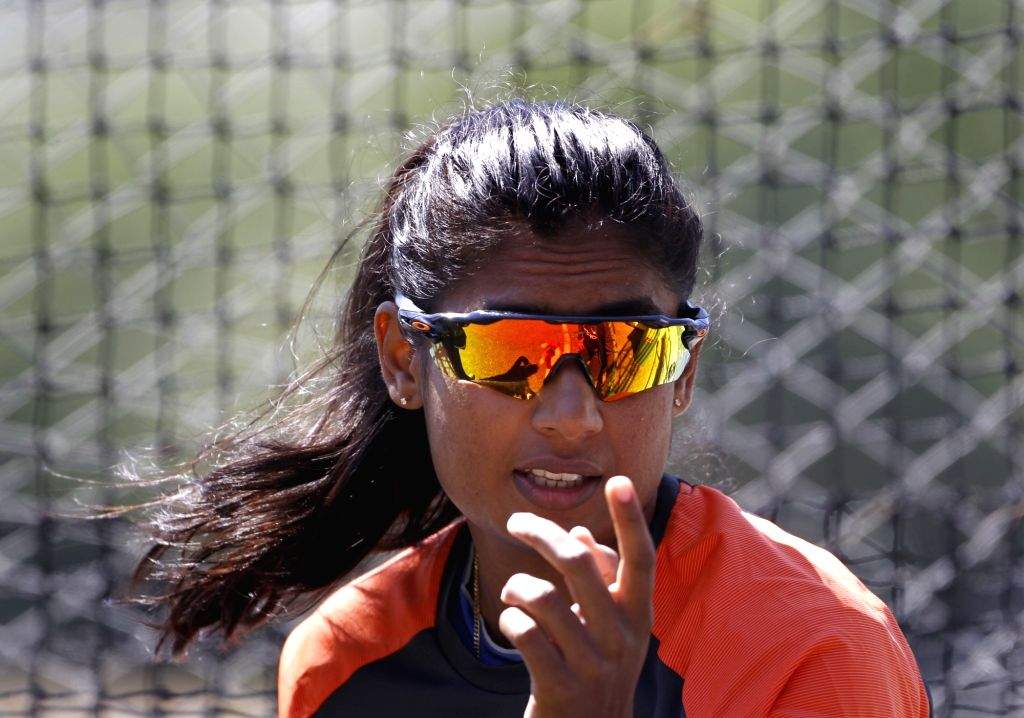 Wellington (New Zealand): Indian women's cricket team captain Mithali Raj during a practice session at Basin Reserve cricket stadium in Wellington, New Zealand on Feb. 5, 2019. - Mithali Raj