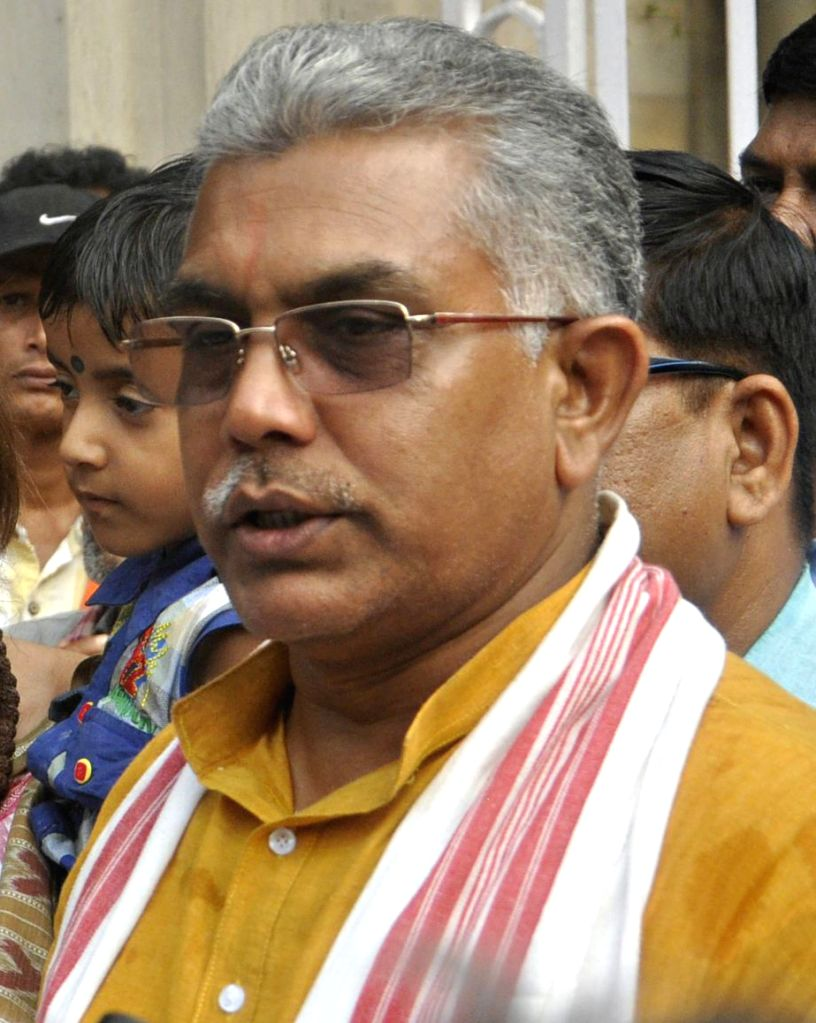 West Bengal BJP president Dilip Ghosh. (File Photo: IANS) - Dilip Ghosh