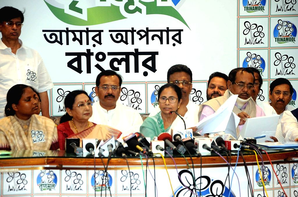 West Bengal Chief Minister and Trinamool Congress (TMC) supremo Mamata Banerjee addresses a press conference where she released the party's list of candidates for the upcoming 2019 Lok Sabha ... - Mamata Banerjee