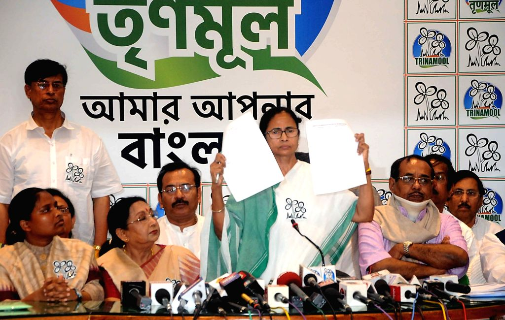 West Bengal Chief Minister and Trinamool Congress (TMC) supremo Mamata Banerjee releases the party's list of candidates for the upcoming 2019 Lok Sabha elections during a press conference at ... - Mamata Banerjee