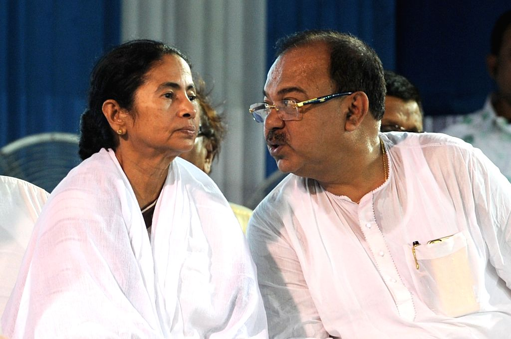 West Bengal Chief Minister Mamata Banerjee during inauguration of a water treatment plant at Garden Reach in Kolkata, on July 17, 2015.