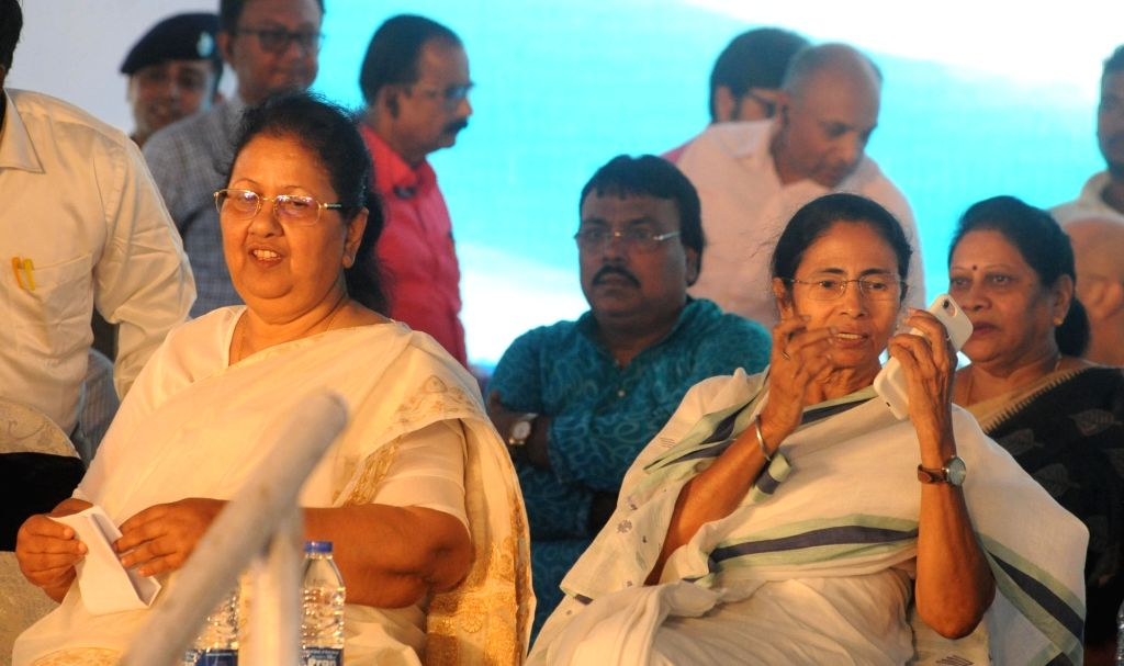 West Bengal Chief Minister Mamata Banerjee during a programme to pay tribute to the memories of esteemed and noted journalists in Kolkata on June 17, 2017. - Mamata Banerjee