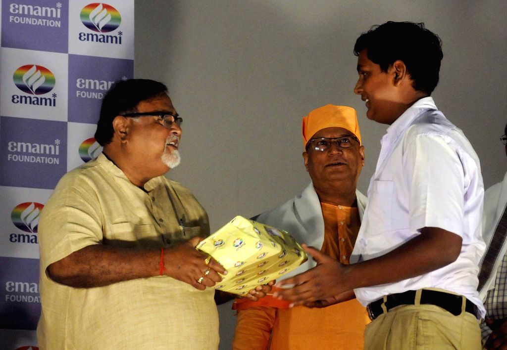 West Bengal Education Minister Partha Chatterjee during the inauguration `Padho India Padho` in Kolkata on July 23, 2015. - Partha Chatterjee