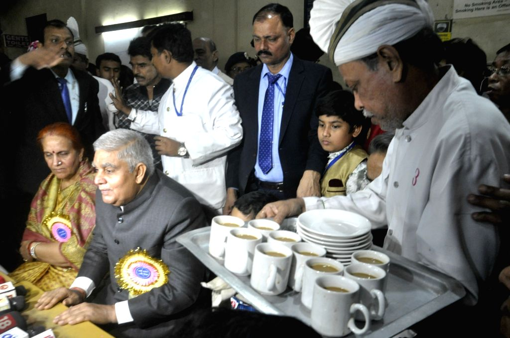 West Bengal Governor Jagdeep Dhankar during a programme at Coffee House in Kolkata on Jan 9, 2020.