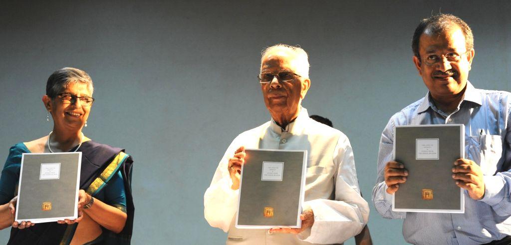 West Bengal Governor Keshari Nath Tripathi during a book launch at Indian Museum in Kolkata, on July 5, 2017. - Keshari Nath Tripathi