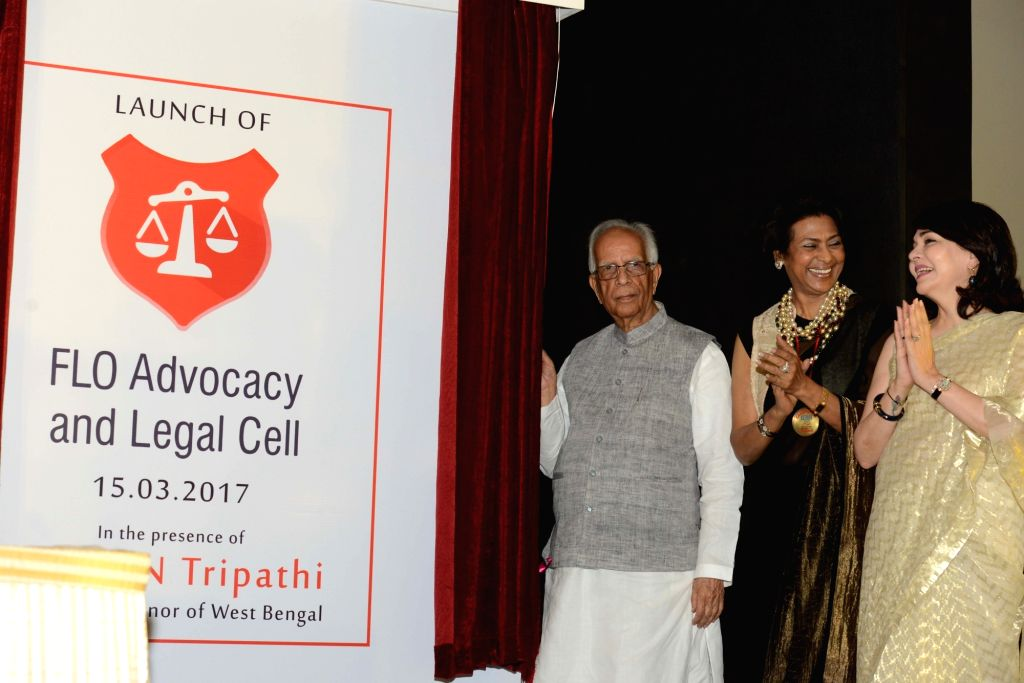 West Bengal Governor Keshri Nath Tripathi during a launch of FLO Advocacy and Legal Cell in Kolkata, on March 15, 2017. - Keshri Nath Tripathi