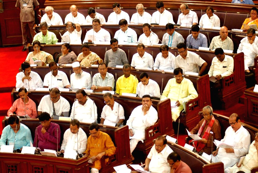 West Bengal legislators during the budget session at West Bengal Assembly in Kolkata on June 17, 2016.